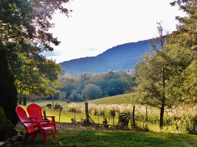 Photo for Cowtail Cottage, 3B/2B sleeps 8 plus, Asheville, Black Mtn,  Comfy and Clean