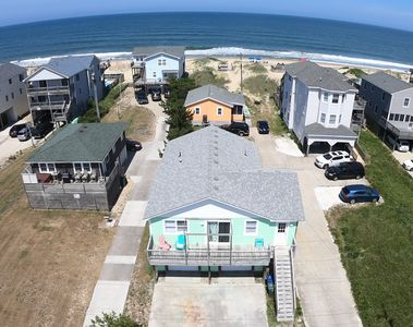 Photo for Affordable ocean front in Quiet South Nags Head, NC. Your own beach out back.