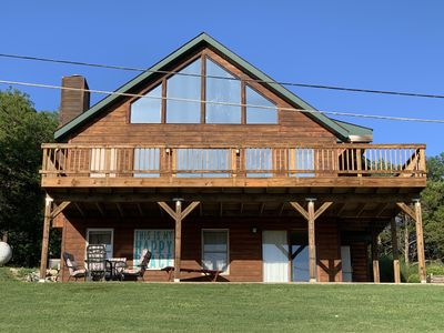 Photo for ABOVE IT ALL GETAWAY is a LUXURY OASIS- Stunning Views of Table Rock Lake