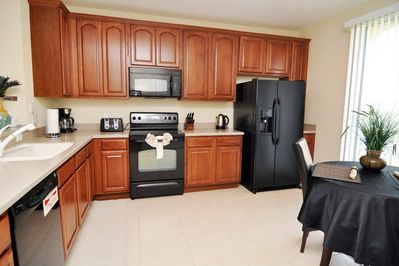 Large kitchenarea with everything you need.