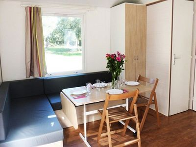 Photo for Camping Odalys Monplaisir - Mobil Home 3 Rooms 4/6 People