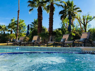 Photo for Private Resort 1/2 Acre Estate w/Pool & Spa in Exclusive Rancho Mirage