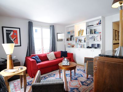 Photo for 2BR Apartment Vacation Rental in Paris, Ile-De-France