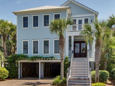 Photo for 118 Charleston Blvd - Private Pool, Easy Beach Access, Gourmet Kitchen!