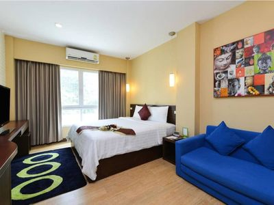 Photo for Beautiful room 10 minutes walk to BTS