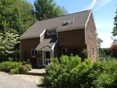 Photo for Fresh, Contemporary Home on Wooded Hilltop Overlooking Back River in Wiscasset