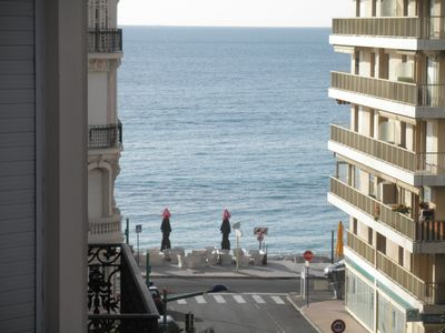 Photo for Menton downtown, two rooms flat, 40 meters from the beaches, totally renovated