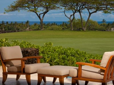 Photo for Magnificent Golf Course and Ocean Views from this Luxury Home* 2 Golf Carts*
