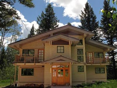 Photo for RMR: Exceptional 5 Bedroom Home in Teton Village! Private hot tub, Free Fun!