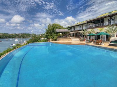 Photo for Large Seaview Villa with Sugar Mill Tower — Great Views & Large Infinity Pool