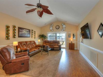 Photo for PREMIERE PROPERTY! NEW Hardwood Flooring! Granite counter tops! Amazing golf course views