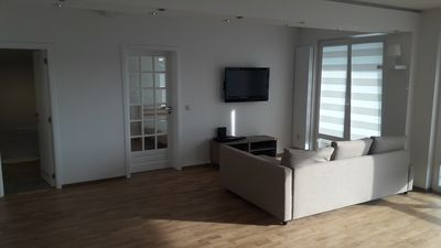 Photo for Brussels Nice Apartment Spacious Modern in Uccle. Free parking, Free WI-FI