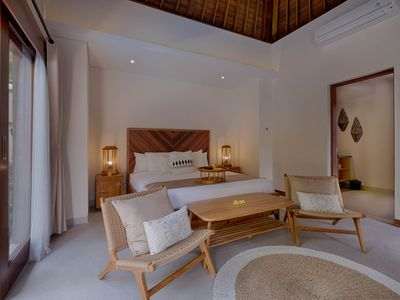 Photo for The Artful Living at Two Bedrooms Private Pool Villa in Ubud