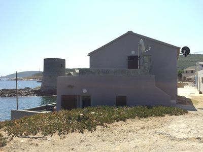 Photo for HOUSE IN THE WATER AT THE END OF CAPE CORSICA