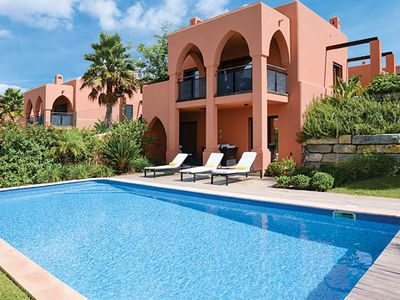 Photo for 3 bedroom villa in golf resort w/ terrace, balcony, pool + free Wi-Fi