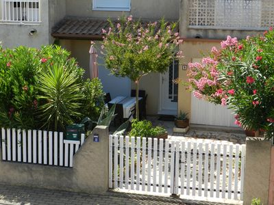 Photo for Rental house Valras Hérault 6 persons. Parking, internet