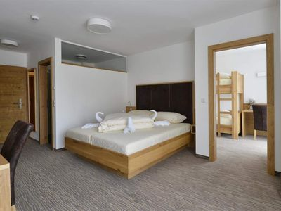 Photo for Family room, approx. 35m² for 2-4 pers. Winter HP - Almhotel Carinthia