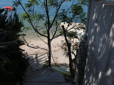 Photo for Two bedroom apartment near beach Vidalići (Pag)