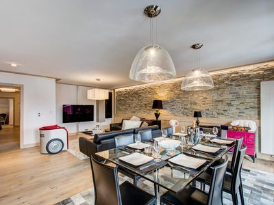 Photo for Carré Blanc 233: 5 rooms with contemporary atmosphere and sauna
