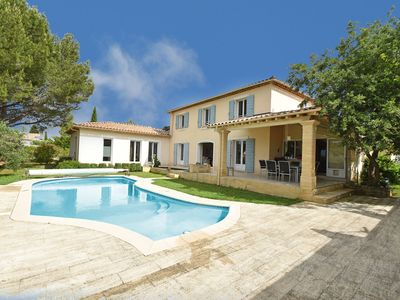 Photo for Luxurious bastide with private heated pool and culinary kitchen within walking distance village