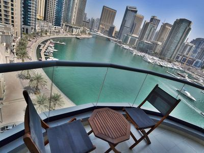 Photo for Spacious 1BR with Dubai Marina view