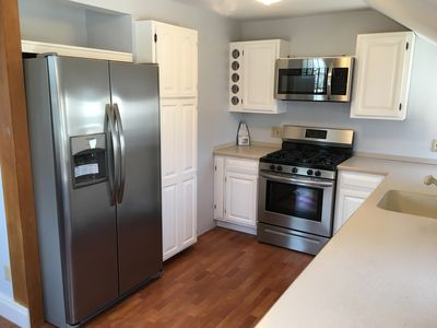 Photo for Completely New in Perfect Location! 3 Bedroom 1 Bath 1 Block from the beach