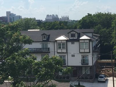 Photo for New House w/ Large Deck & Balconies at Edge of The Gulch/Downtown Nashville