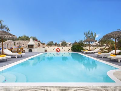 Photo for ELIA - Sunny Villa with Private Pool and Sea Views