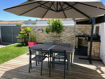 Photo for Le Bois Plage En Re: Beautiful house with garden near the town center and beach