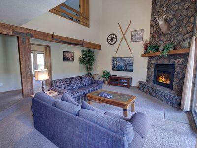 Photo for Enclave 5 Private Hot tub with shared pool, King bed, Private Garage by SummitCove Lodging