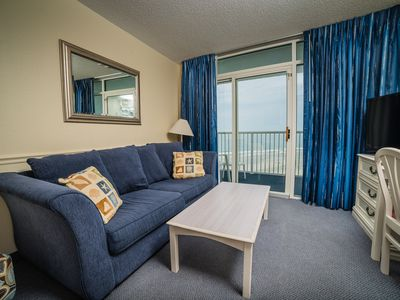 Photo for Oceanfront 1BR condo, pools/lazy river/Jacuzzis/WiFi, Sea Watch NT