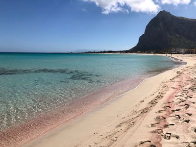 Photo for A bright apartment just steps from the coral-coloured beach of San Vito Lo Capo