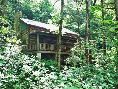 Photo for Wolf Branch Cabin- Privacy Abounds, Hot Tub, Pet Friendly