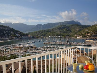 """Photo for """"Neptuno 3"""", apartment with fantastic views to the Port de Soller and the marina"""