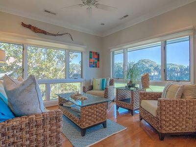 Photo for Luxurious Turtle Point Villa with Updated Decor & Gorgeous Views!