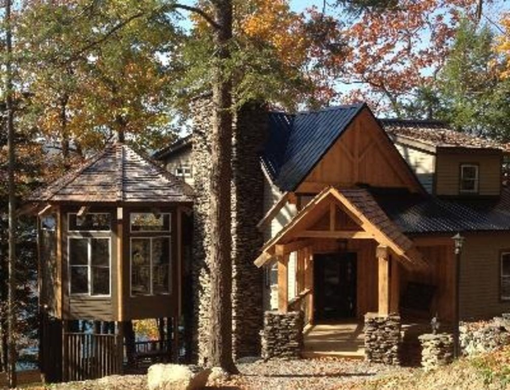 Log Home In The Woods ~ Luxury log cabin in the woods on skaneateles lake