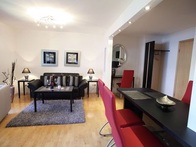 Photo for Stylish apartment with indoor pool and infrared sauna in the Bavarian Forest