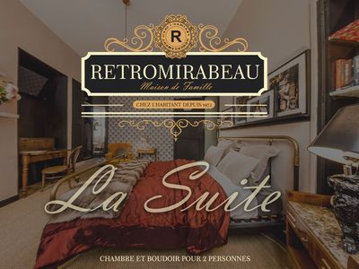 Photo for THE SUITE & ITS BOUDOIR ★★★★ - RetroMirabeau - Imm. 18th + Bike (Free)