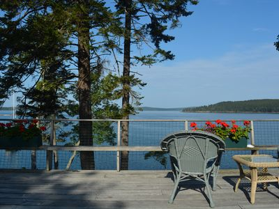 Photo for Great for Groups, Big & Extended Families! Large Ocean Front home near Acadia NP