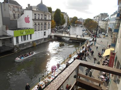Photo for Amazing Views In Heart Of Ghent, Hot Tub