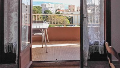 Photo for Amazing apt with sea view and terrace