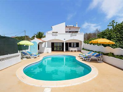 Photo for 4 bedroom villa w/ private pool, terrace, BBQ + spectacular views
