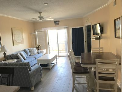 Photo for 3 BR 2 Bath Condo- Steps to the Beach