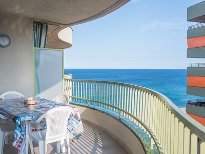 Photo for Mediterranean views with the beach one step away