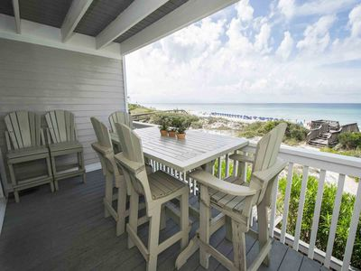 Photo for Gorgeous Gulf Front Townhome ~ Spectacular Views ~ Private Balcony ~ Directly on Crystal White Sands!
