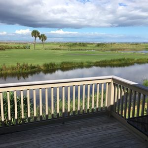 GOLF COURSE / OCEAN VIEW FROM THE DECK