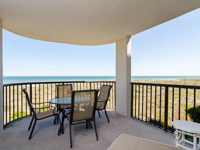 Photo for Fantastic views from this ocean front end unit condo!
