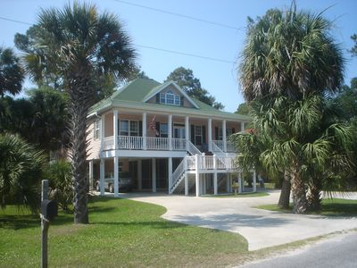 Photo for Sea Cloud:  family friendly, well located, classic South Carolina  beach home