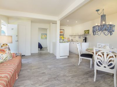 Photo for Steps for Carpinteria Beach with private patio -  this beach gem is a winner!
