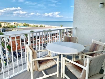 Photo for Flamingo Fun 2 Bedroom/2 Bath 6th floor/Stunning Coastline View of Cocoa Beach